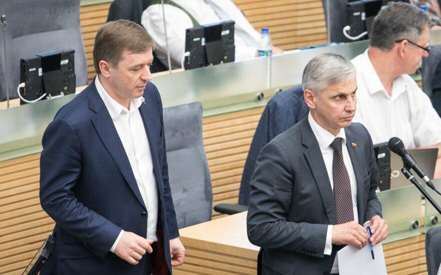 Ramūnas Karbauskis, Povilas Urbšys