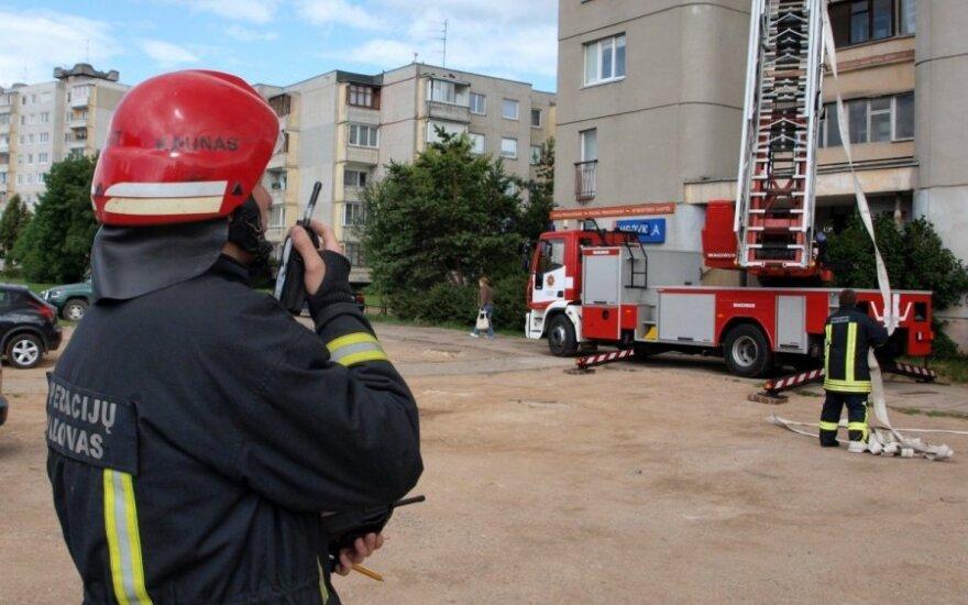 Būti gaisrininku – lieka ne tik vaikystės svajone