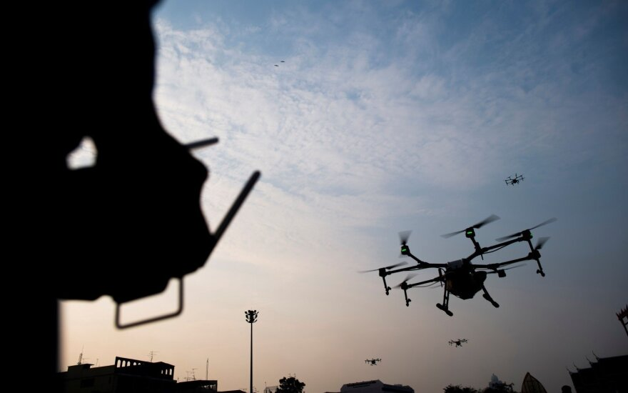 Border guards buy two drones to fight cigarette smuggling