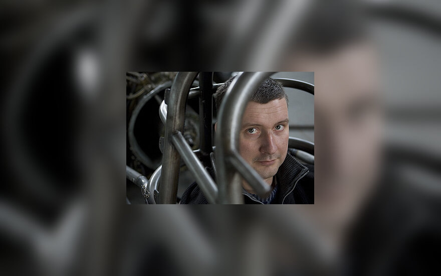 """Andrius Tiknius (""""Jet car"""")"""