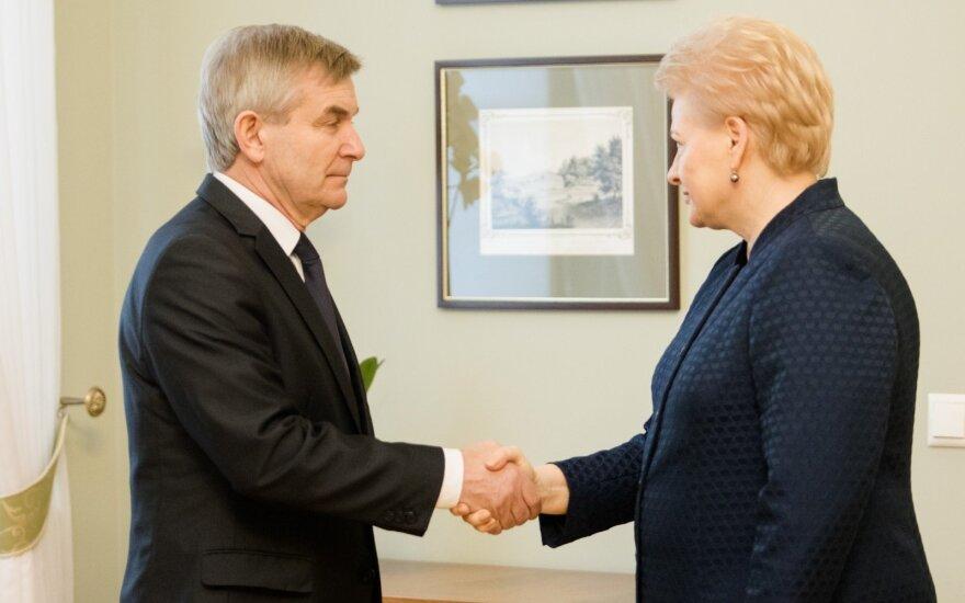 Pranckietis mato dvi išeitis iš Grybauskaitės ir Skvernelio santykių krizės