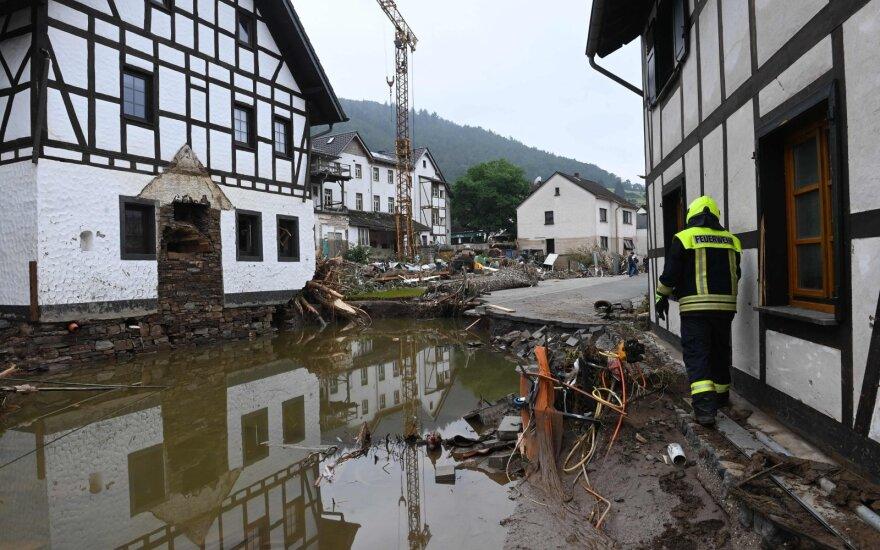 Po Europą nusiaubusių potvynių ryškėja siaubingas katastrofos mastas: vaizdas kaip po bombos sprogimo, tūkstančiai virto benamiais