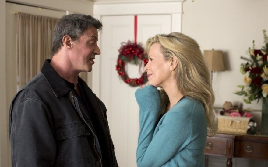 """Kim Basinger ir Sylvesteris Stallone filme """"Didžioji kova"""""""