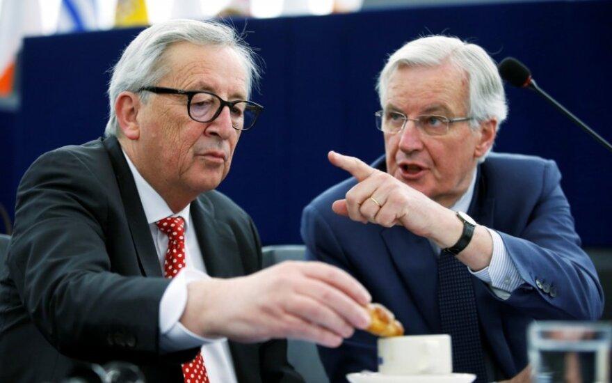 Jeanas-Claude'as Junckeris ir Michelis Barnier
