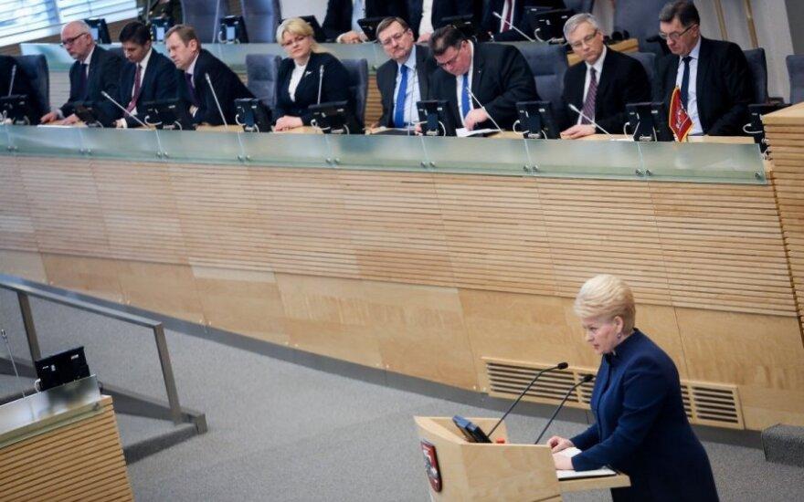 L. Graužinienė: Seimas atviras diskusijoms dėl kandidatų į generalinius prokurorus