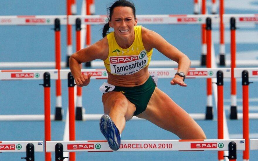 S.Tamošaitytė pagerino Lietuvos 60 m barjerinio bėgimo rekordą