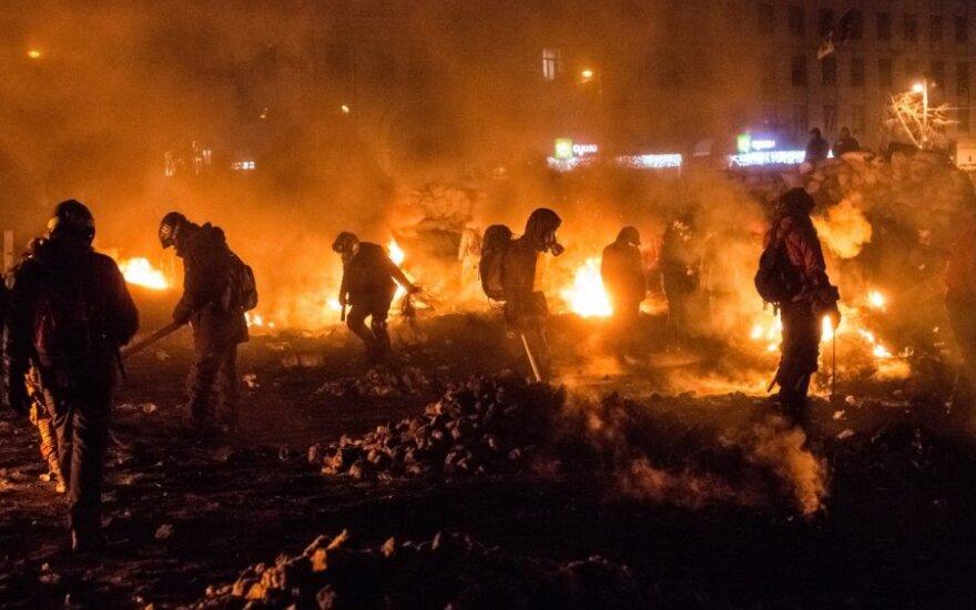 Protestų Ukrainoje leitmotyvas – nebe ES