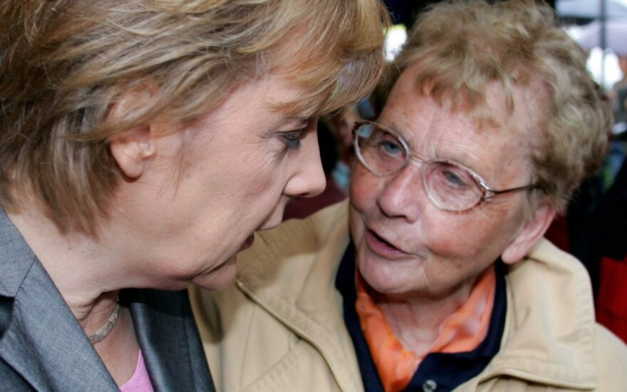 Mirė Vokietijos kanclerės Angelos Merkel motina