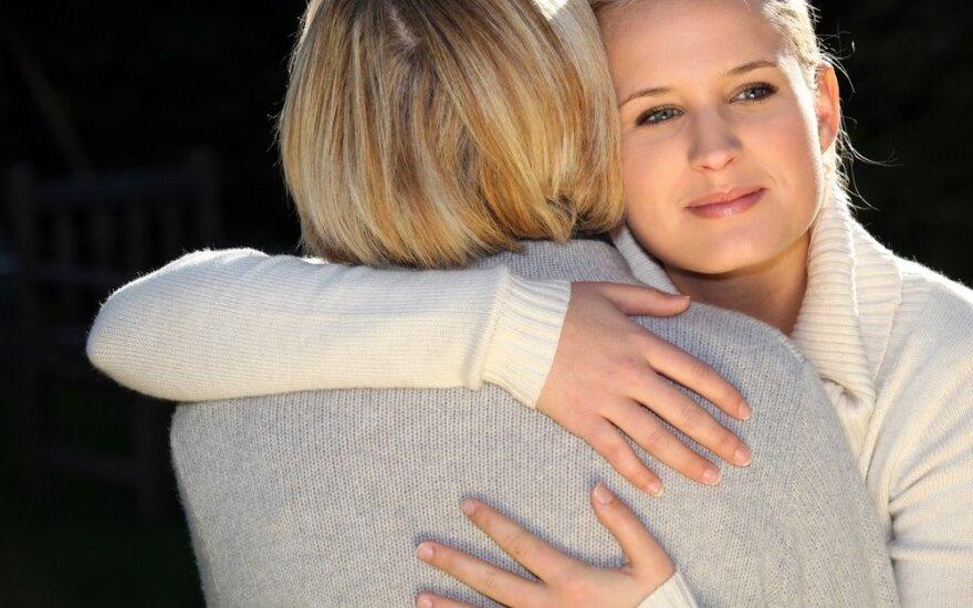 Pasitikrinkite, kokiame santykių su tėvais etape esate