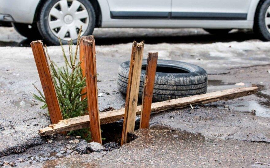 Smegduobė Ukmergės gatvėje