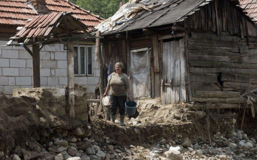 Potvyniai nuniokojo Rumuniją ir Bulgariją