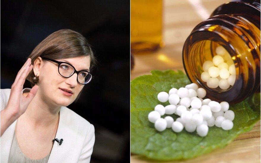 Gydytoja apie homeopatiją