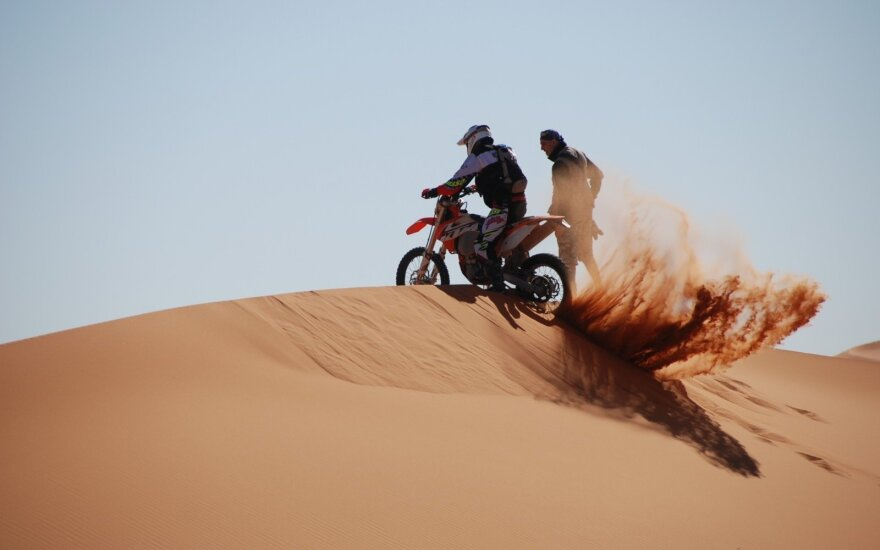 Tuaregų ralio ketvirtoji diena