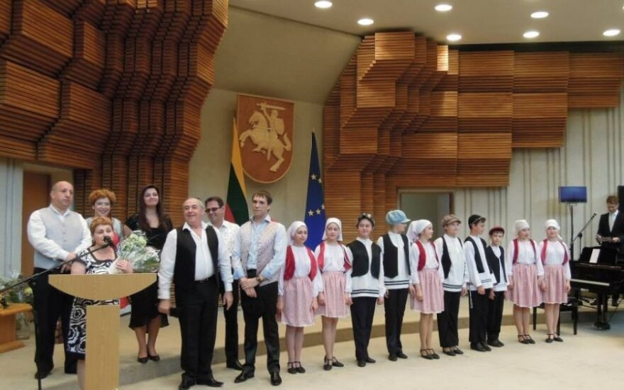 Jewish song and dance group Fajerlech. Photo courtesy of the Lithuanian Jewish Community