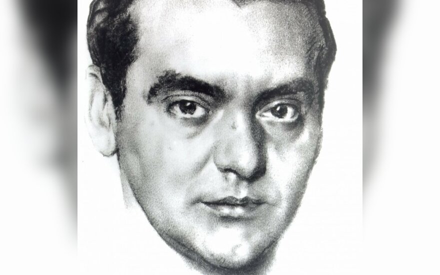 Poeto Federico Garcia Lorcos kapas buvo tuščias