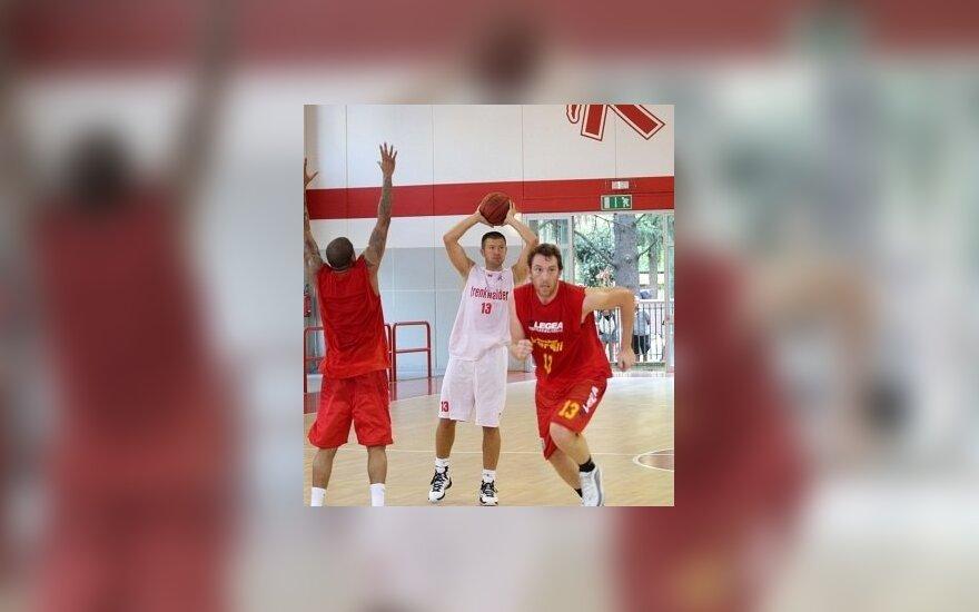 Donatas Slanina (pallacanestroreggiana.it nuotr.)