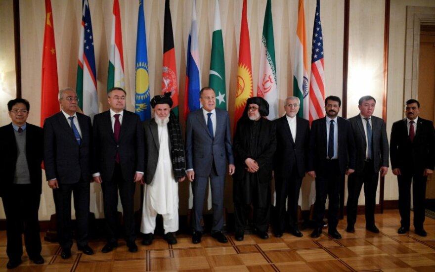 Maskvoje prasideda Afganistano konferencija, kurioje pirmą kartą dalyvaus Talibano delegacija