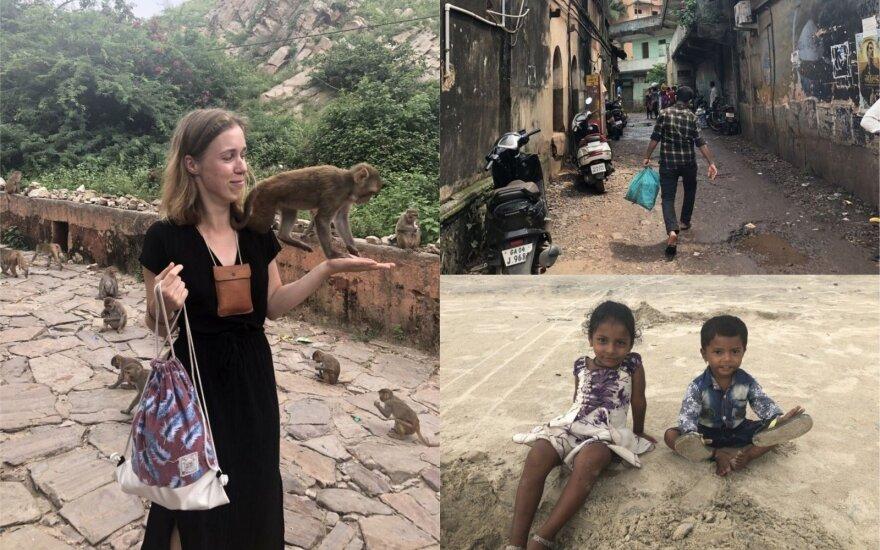 Indijoje viešėjusi kaunietė: šią šalį rekomenduoju tiems, kurie pasiryžę daug ištverti