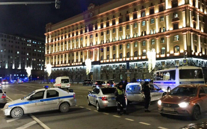 Rusija paskelbė šaudynių Maskvos centre kaltininko vardą