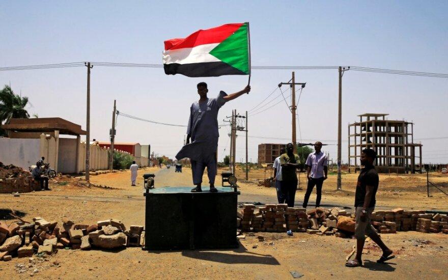 Protestai Chartume