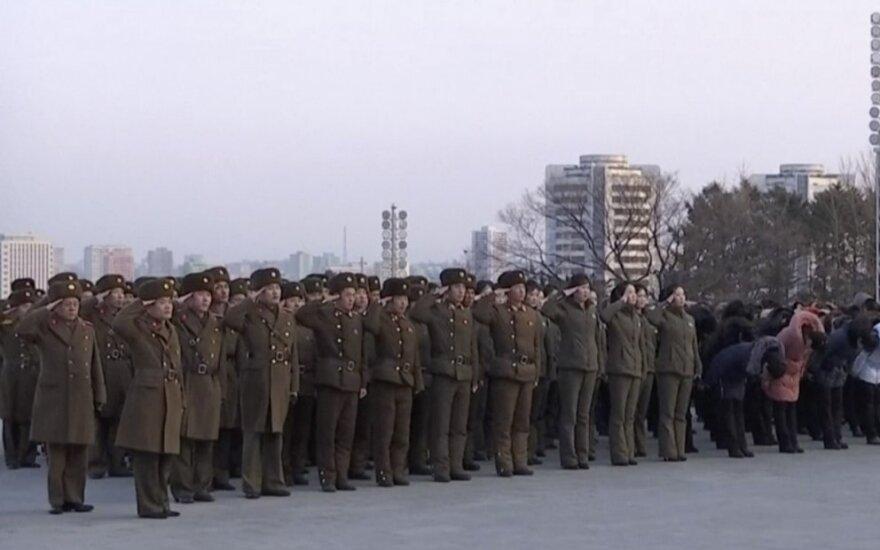 Iš Šiaurės Korėjos išsiųstas nelegaliai į šalį patekęs JAV pilietis