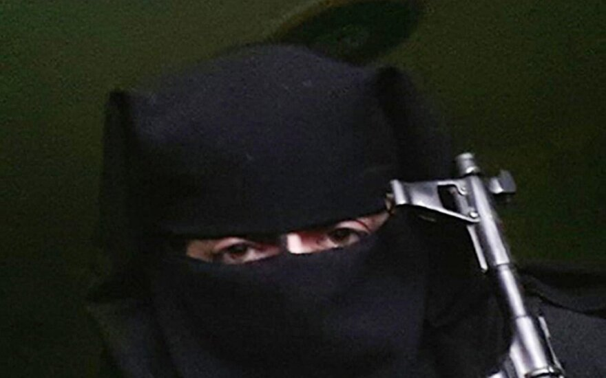 Islamo valstybės kovotoja