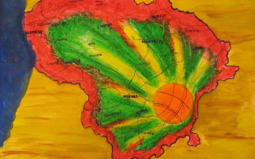 Piešiu krepšinį 2