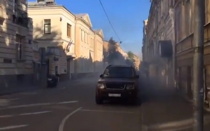 Maskvoje – išpuolis prieš Latvijos ambasadą