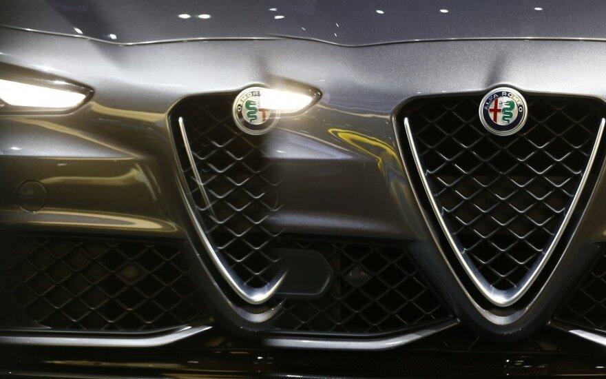 """""""Alfa Romeo"""" visureigį tikisi pristatyti kitą rudenį"""