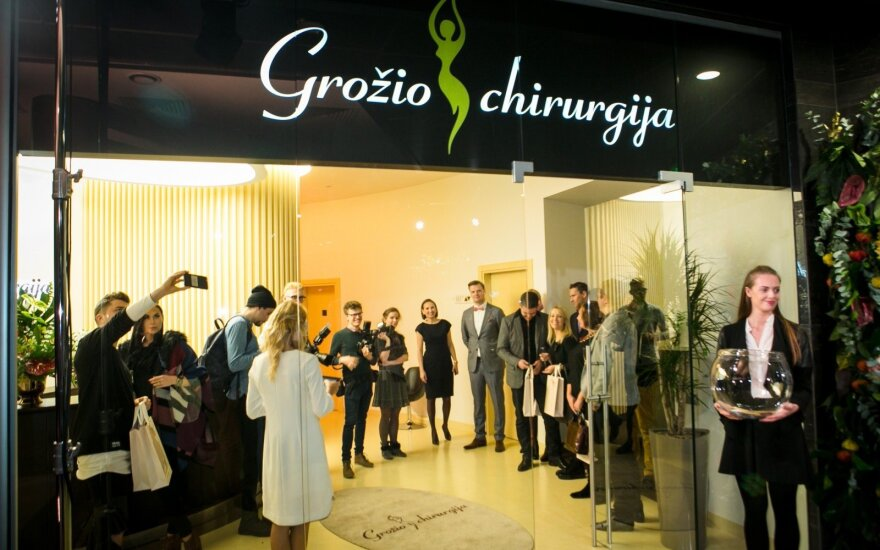 Opening of the Grožio Chirurgija clinic
