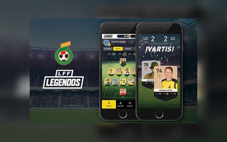 Žaidimas LFF legendos