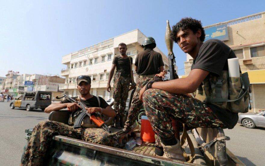 Husių sukilėliai Jemene