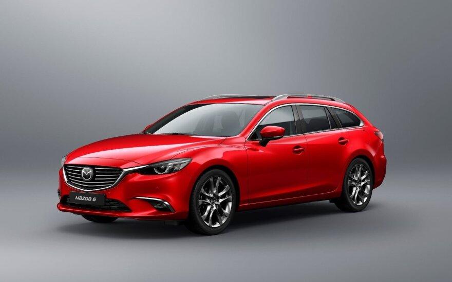 """Atnaujinta """"Mazda6"""""""