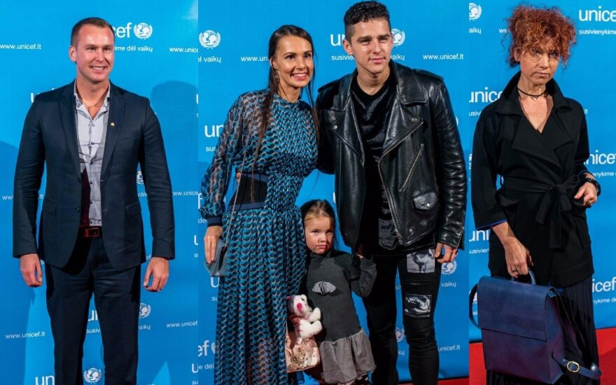 Jevgenijus Šuklinas, Donatas Montvydas su šeima, Redita Dominaitytė