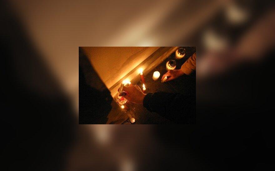 Degamos žvakutės