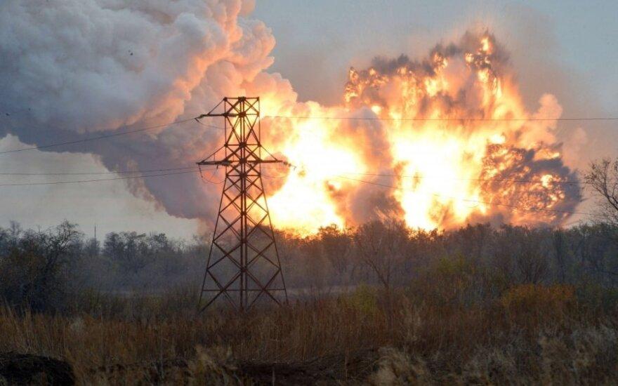 Ukrainai metė kaltinimus dėl uždraustų ginklų naudojimo