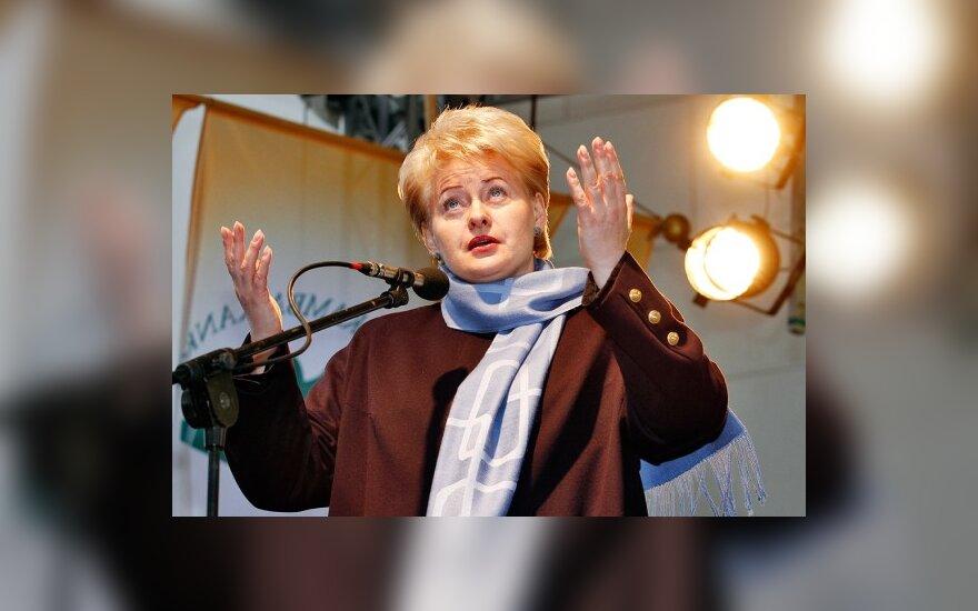 D.Grybauskaitės metinis pranešimas suplanuotas birželio 8-ąją