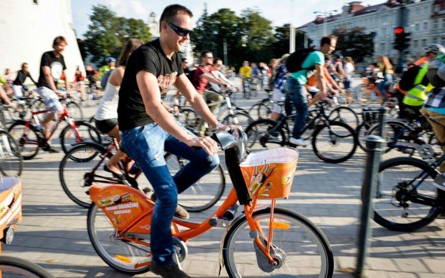 Sutrikusi dviračių nuomos sistema neveikia visame Vilniaus mieste