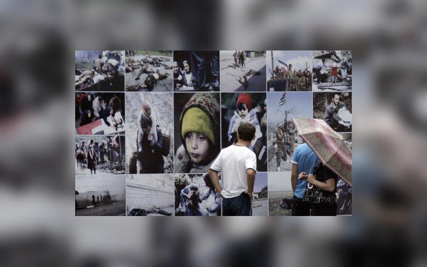 Gruzinai mini Rusijos-Gruzijos karo metines