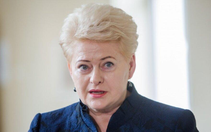 D. Grybauskaitė: Konstitucija – valstybės stabilumo ir pažangos garantija