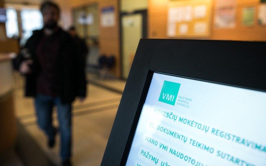 Prasidėjo pajamų deklaravimas – sutriko VMI tinklapio veikla