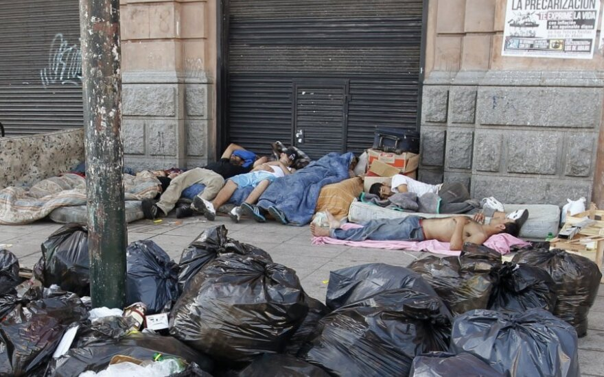 Vargšai Argentinoje