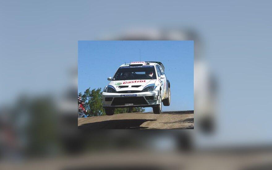 Markko Martin, Ford Focus WRC