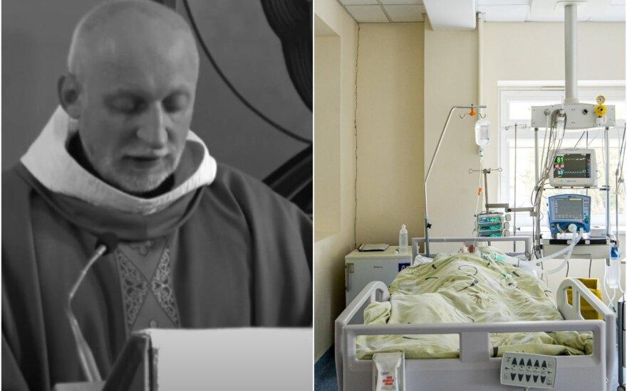 Nuo koronaviruso mirė kunigas.