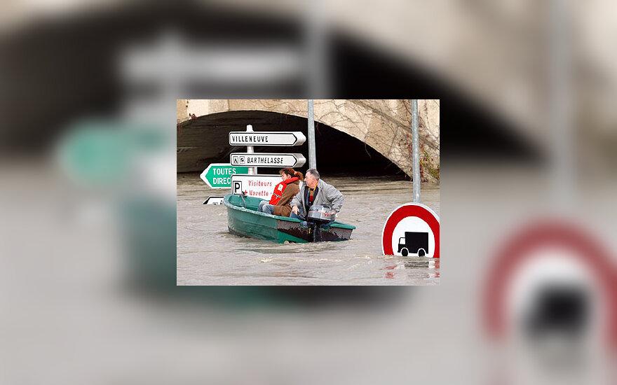 Potvynis P.Prancūzijoje