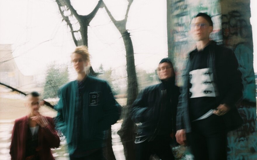 "Grupė ""ba."" /Foto: DJ Young Žižek"