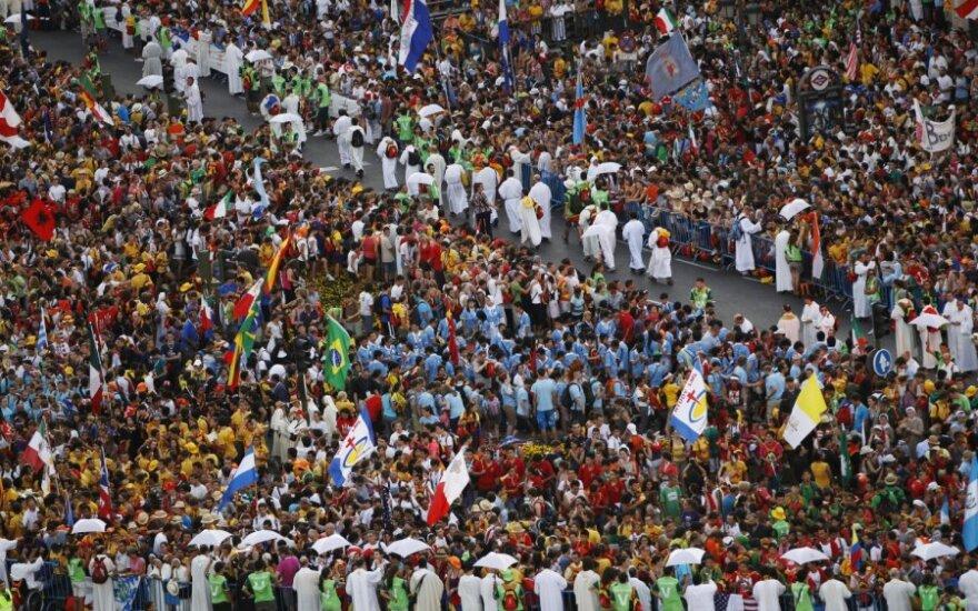 Madridą užplūdo katalikų maldininkai