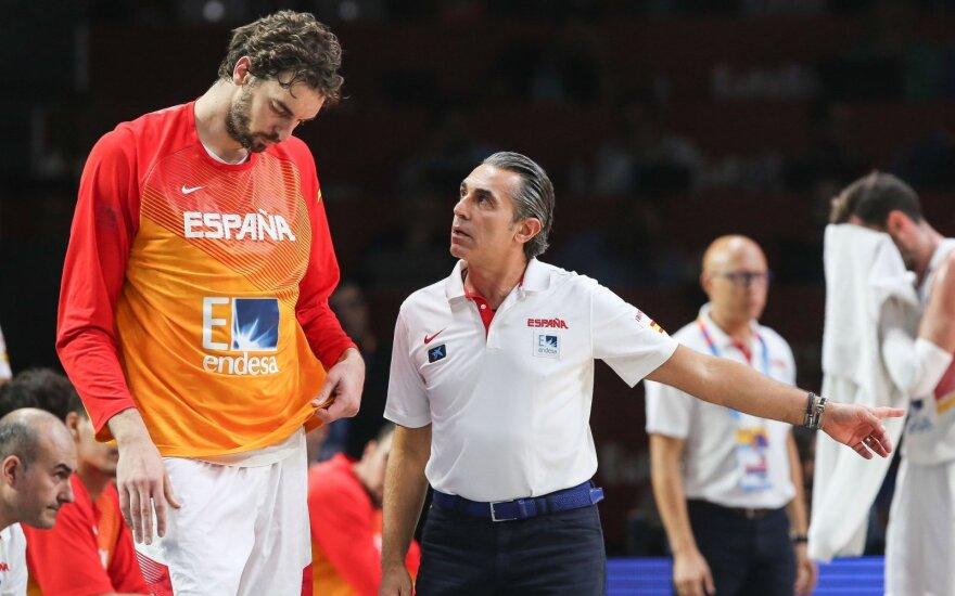 Pau Gasolis, Sergio Scariolo