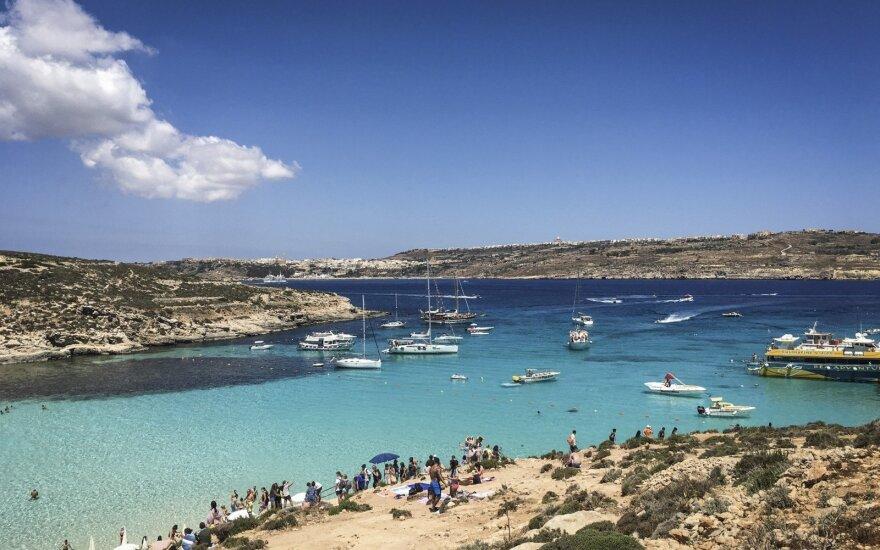 Malta planuoja nuo liepos atnaujinti oro susisiekimą su Lietuva ir beveik 20 šalių