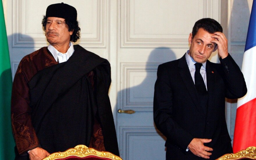 Buvęs Prancūzijos prezidentas Sarkozy bus teisiamas dėl bandymo paveikti teisėją
